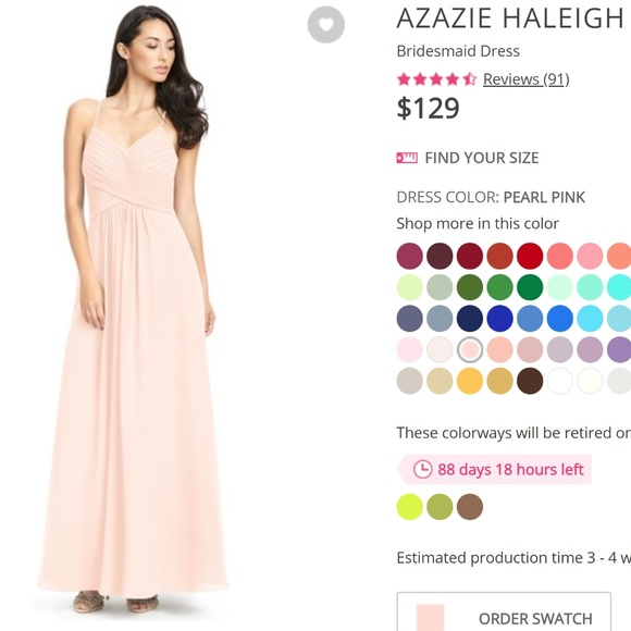 bf1e4b39674 Azazie Haleigh Bridesmaid Dress